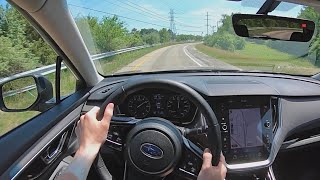 2020 Subaru Outback Onyx Edition XT - POV Test Drive (Binaural Audio)