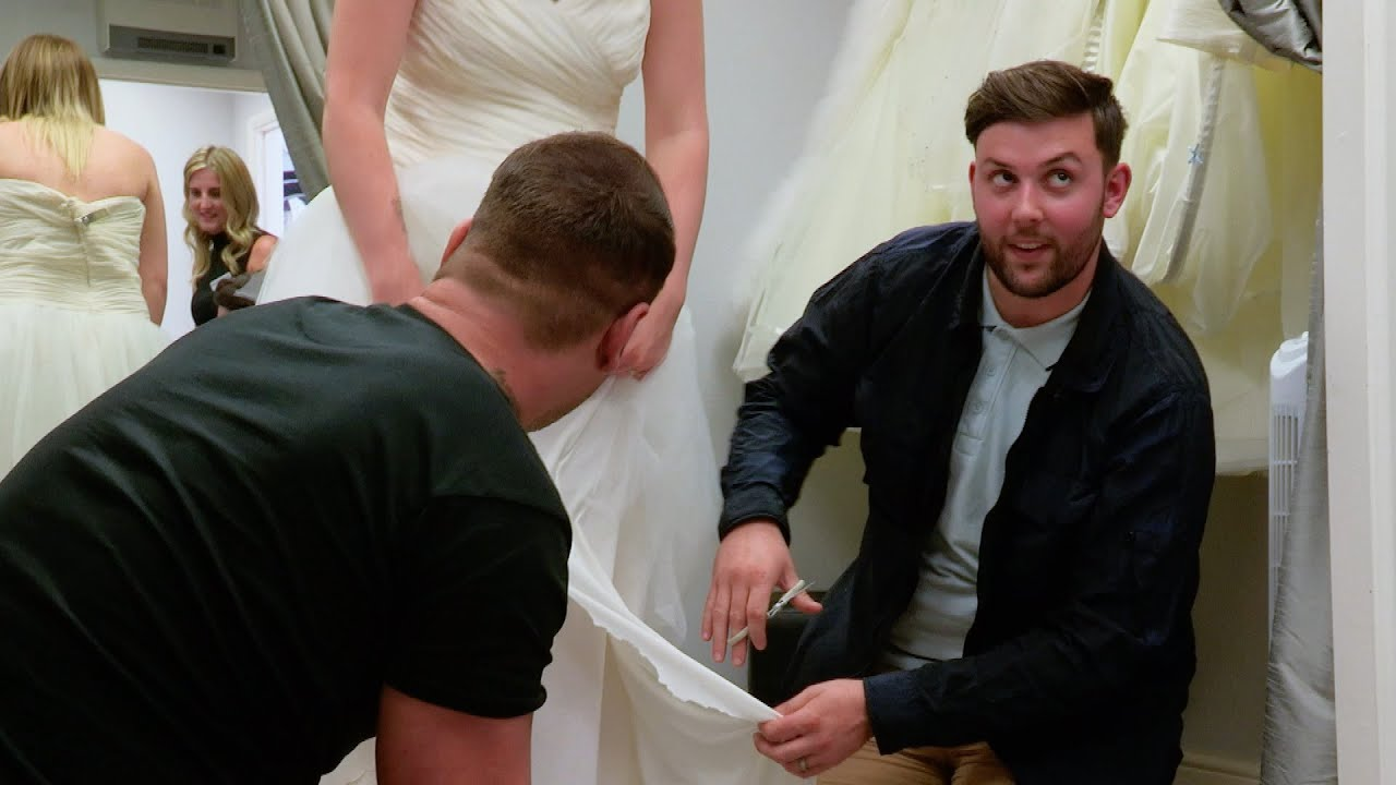 6a111b34b35 DIY Wedding Dress Alterations - Don t Tell The Bride  Series 10 Episode 5  Preview - BBC Three