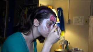 Halloween Facial Muscles Face Paint
