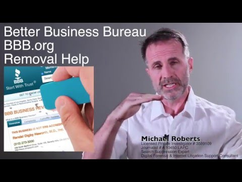 Better Business Bureau BBB.org Complaint Removal Help