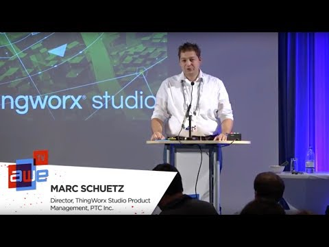 Marc Schuetz (Thingworx Studio, PTC): Enterprise AR Success with 3D-CAD, Animation, and IoT Data