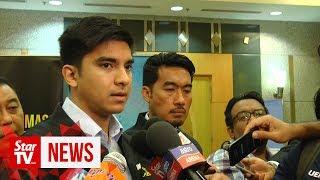 Syed Saddiq wants MPM to resolve its dispute by year-end