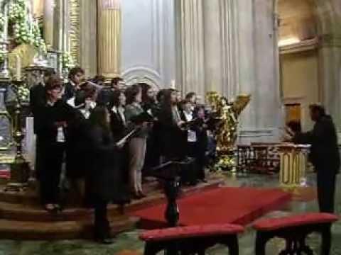 grupo coral de Airão S.João no Sameiro 4ª musica 19 Maio 2013