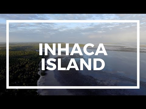Inhaca Island from above