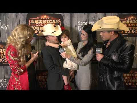 Justin Moore Red Carpet Interview - ACCAs 2014