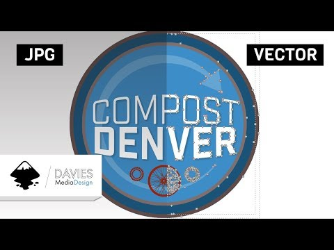 Convert a JPEG Logo to a Vector Logo in Inkscape thumbnail