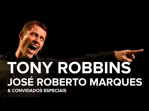 Tony Robbins e José Roberto Marques no mesmo palco! Tony Robbins Brasil