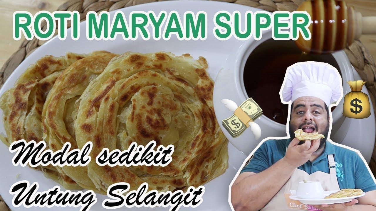 Resep Roti Mariyam Roti Canai Super Enak Dan Buttery Bisa Bikin Untung Selangit Viralkan Youtube
