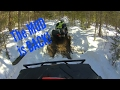 KingQuad ATV Ride!  Bear Claw Original and HTR Comparison!