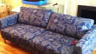 Ikea Karlstad Sofa Assembly Service Video In Baltimore Md By Furniture Assembly Experts Llc