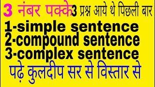 english preparation in hindi । uptet 2018 । ctet english preparation । kvs exam । grammar