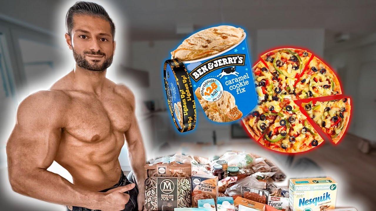 5% KFA mit DIESER Ernährung?! - Full Day Of Eating (BODYBUILDING DIÄT)