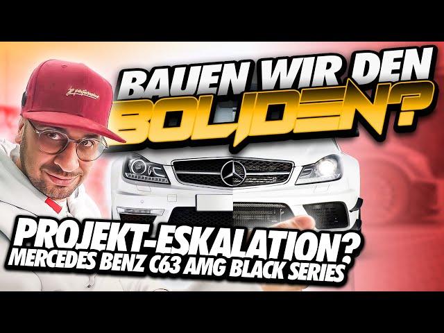 JP Performance - Bauen wir den Boliden ? | Mercedes-Benz C63 AMG Black Series