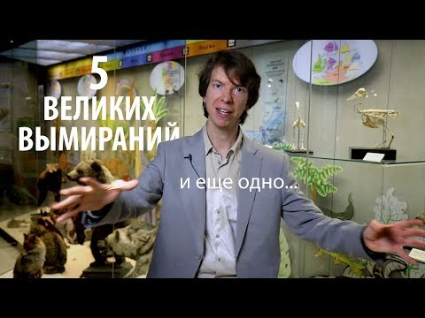 ВЕЛИКИЕ МАССОВЫЕ ВЫМИРАНИЯ. Ярослав Попов
