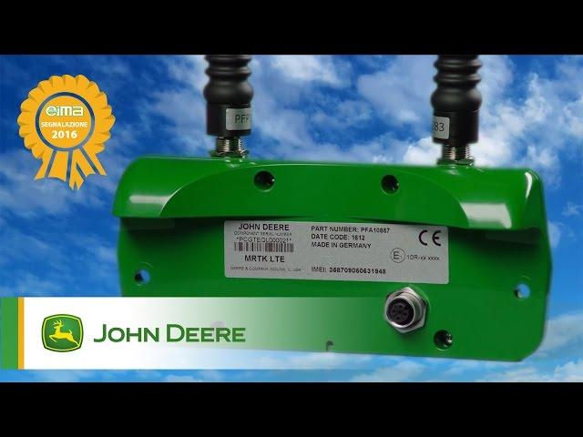 """Premio """"Segnalazione"""" EIMA: Mobile RTK di John Deere"""
