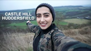 UK VLOG#2 | CASTLE HILL HUDDERSFIELD