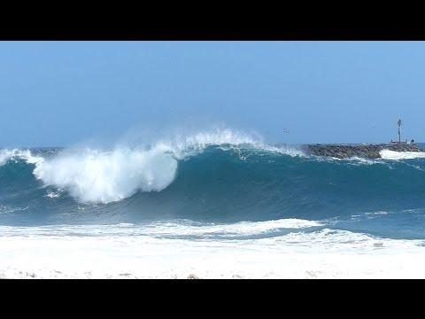 Newport Beach, CA, Wedge Surf 4ft - 6ft, 4/27/2014