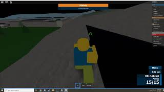 Cool out of bounds in Prison life ROBLOX