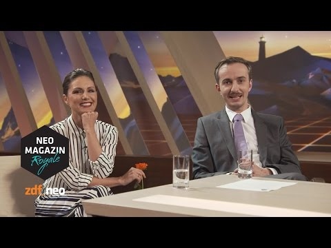 Heute in der Show der coolen Leute | NEO MAGAZIN ROYALE mit Jan Böhmermann - ZDFneo