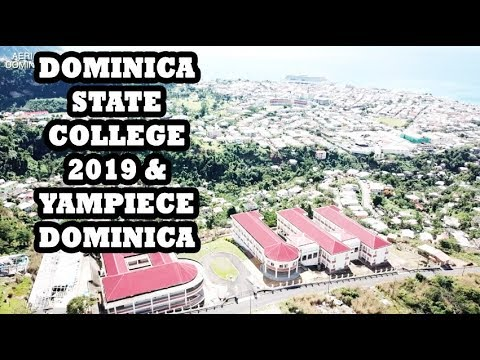 DOMINICA STATE COLLEGE 2019 & YAMPIECE 2019 - AERIAL DOMINIC