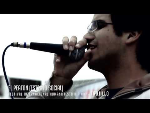 TRUJILLO representando en el Festival Internacional Humanifiesto Hip Hop