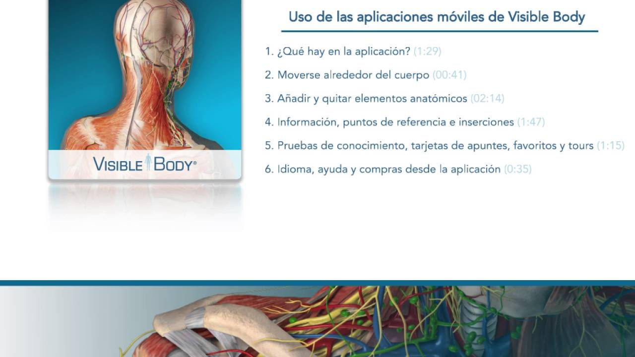 Uso del Atlas de anatomía humana (iPad y tableta Android) - YouTube