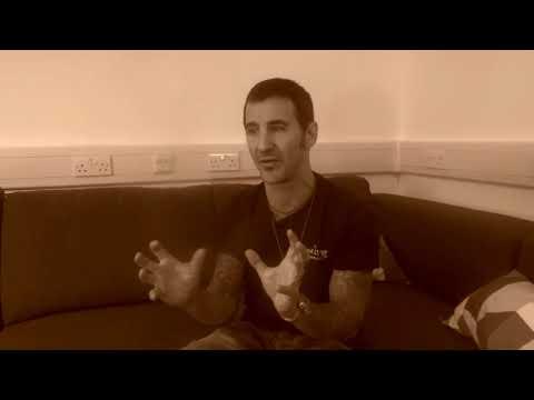 Sully Erna - Interview (Part 1) London Islington Assembly Hall (Music Trespass Magazine)