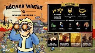 【PS4】ニュークリアウィンター『Fallout 76 フォールアウト76 』~生き残れ!バトルロイヤルモード~