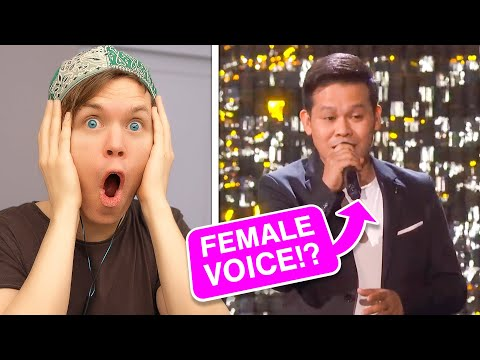 Singing With DUAL VOICES (He's back!)