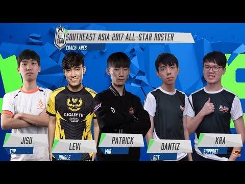 Trực tiếp : ALLSTAR 2017 -  Ngày thi đấu thứ 3 [ 10/12/2017] AllSTAR Đông Nam Á mở màn