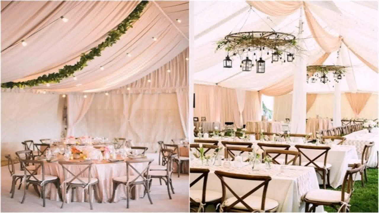 decorating a wedding tent diy decorate wedding tent 3358