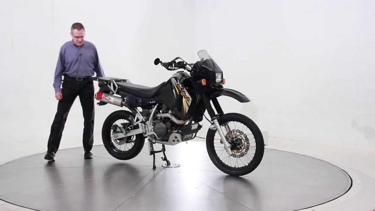 2007 Kawasaki KLR 650 Black - YouTube