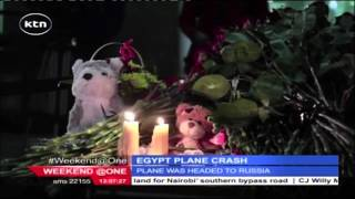Russian and Egyptian investigators working to establish cause of crash of a Russian airliner