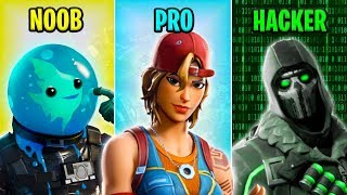 NOOB vs PRO vs HACKER - Fortnite Funny Moments #24