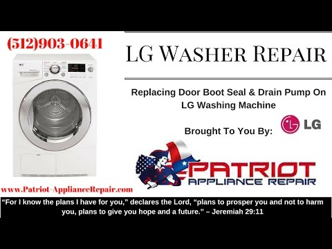 Patriot Appliance Repair 512 903 0641 Lg Washer Replace