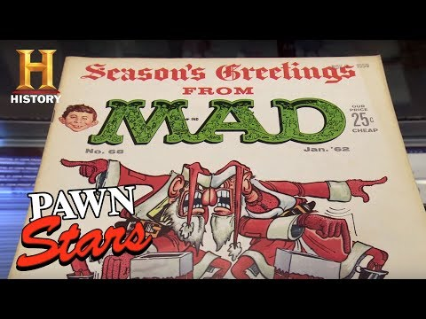 Pawn Stars: Mad Magazine Cover Art | History