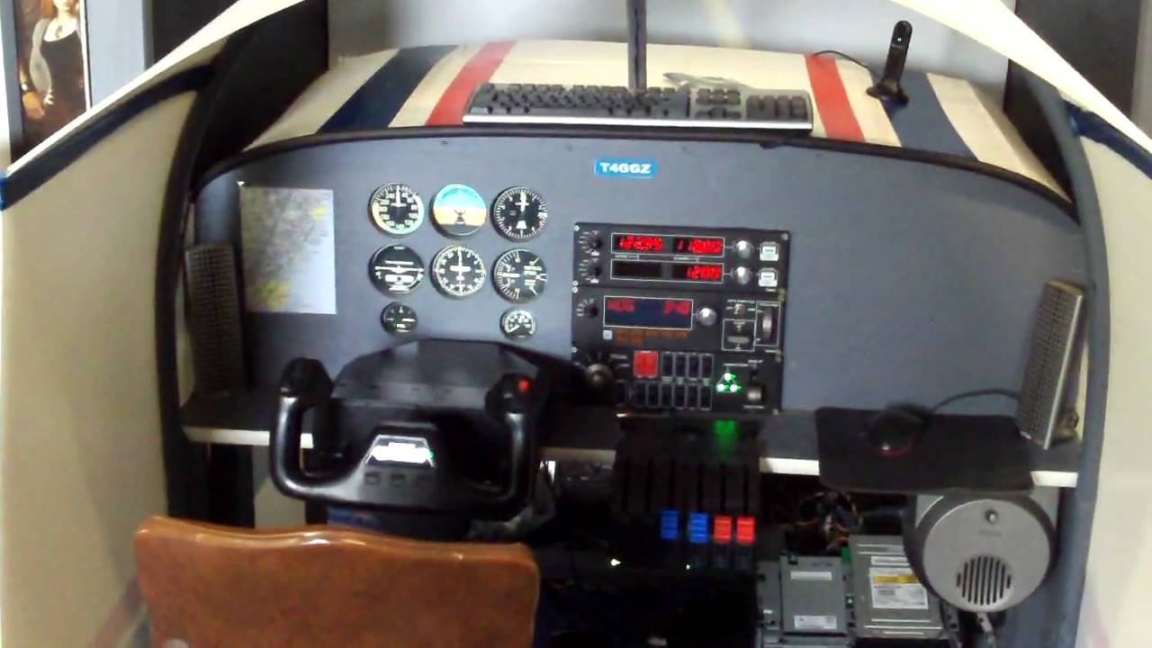 Home flight simulator set up - Home Flight Simulator Set Up 25