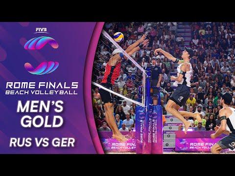 Men's Gold Medal: RUS Vs. GER | Beach Volleyball World Tour Finals Rome 2019
