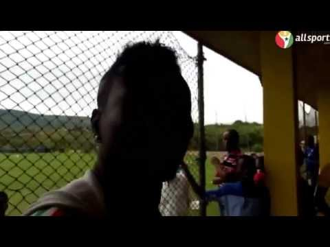 Asamoah Gyan speaks Chinese at Black Stars Training