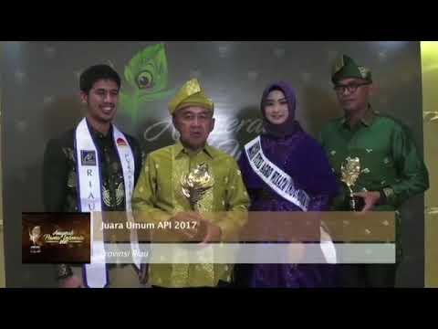 INDONESIA'S MOST POPULAR TOURISM 2017 || Riau Juara Umum Festival Wisata Terpopuler Indonesia