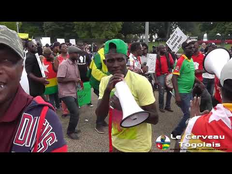Togo Protest 09 09 2017 Washington DC
