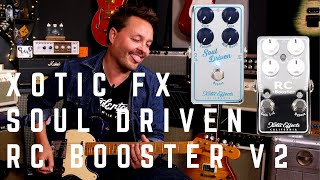 Boost my Soul - Xotic Soul Driven and RC Booster v2 Demo MP3