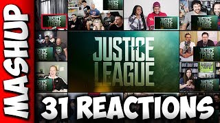 JUSTICE LEAGUE Comic Con Trailer Reactions Mashup