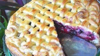 Лимбургский флай – пирог со смородиной