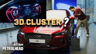 2019 Genesis G70 Review - World 1st? 3D Cluster? - What has changed on the Genesis G70