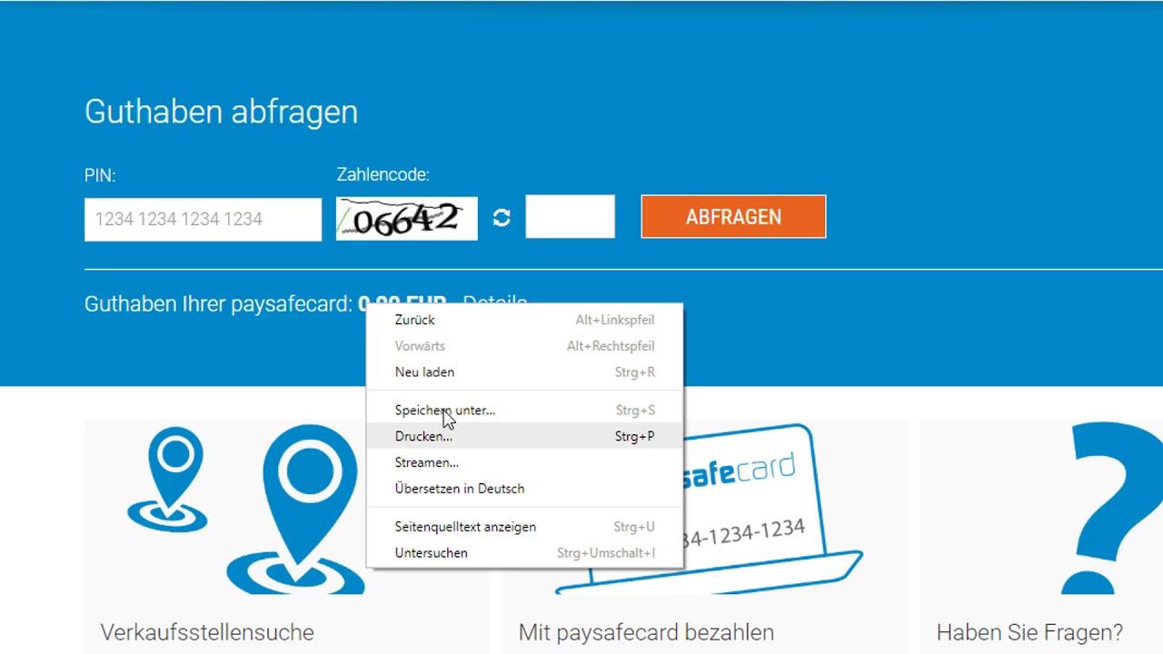 My Paysafecard Guthaben Aufladen