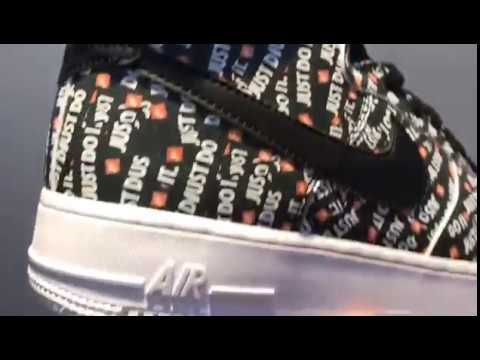 Nike Air Force 1 Just Don Low AO5183-001 - YouTube 0af69354c6