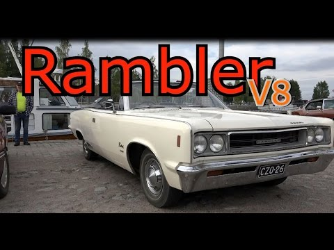 Rambler Rebel SST Convertible- V8 monster classic car