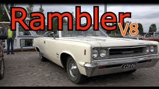 Rambler Rebel SST Convertible- V8 monster classic car