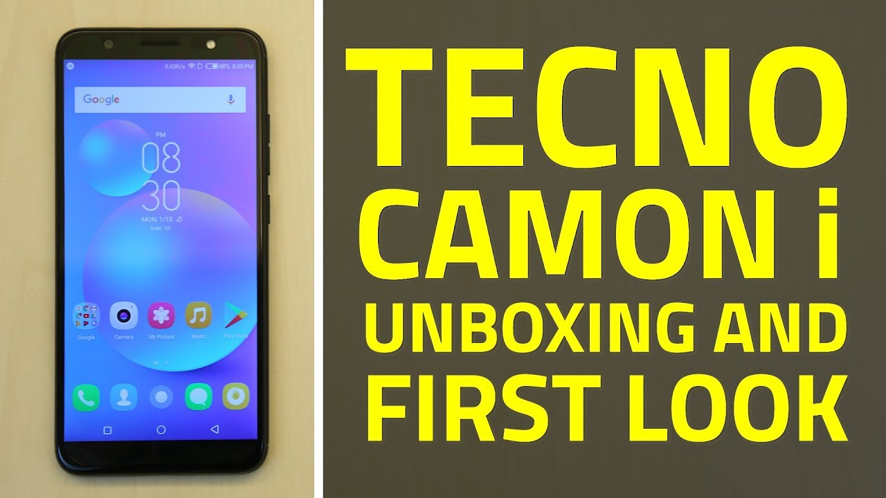 Tecno Camon i Unboxing and First Look | Specifications, Features, and More